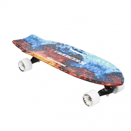 Charger-X Surf Skate Flammes